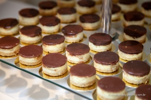 MINI CHEESCAKE CHOCOLATE